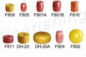 Commercial fishing floats - PVC floats