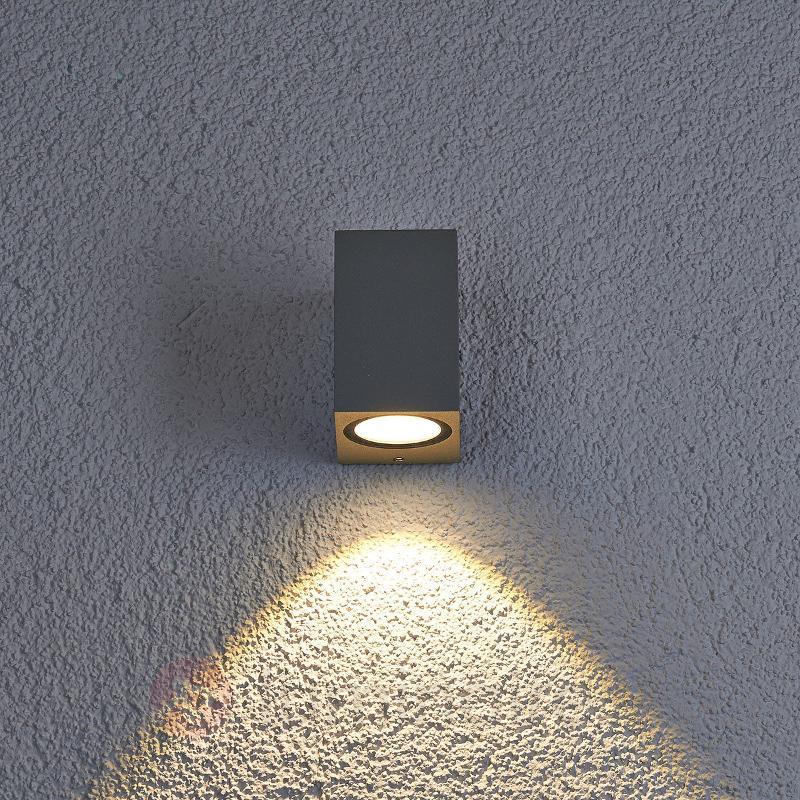 Applique d'extérieur LED Tavi, hauteur 9,5 cm - Appliques d'extérieur LED