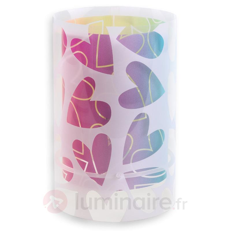 Cuore - lampe à poser décorée de cœurs - Chambre d'enfant