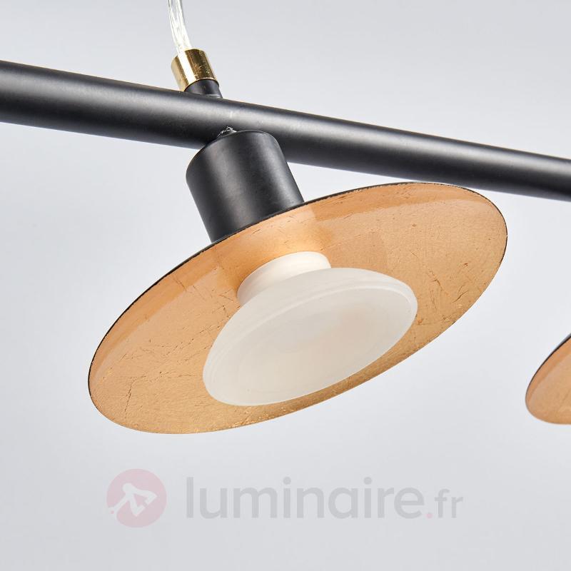 Suspension LED Andrej à 4 lampes - Suspensions LED