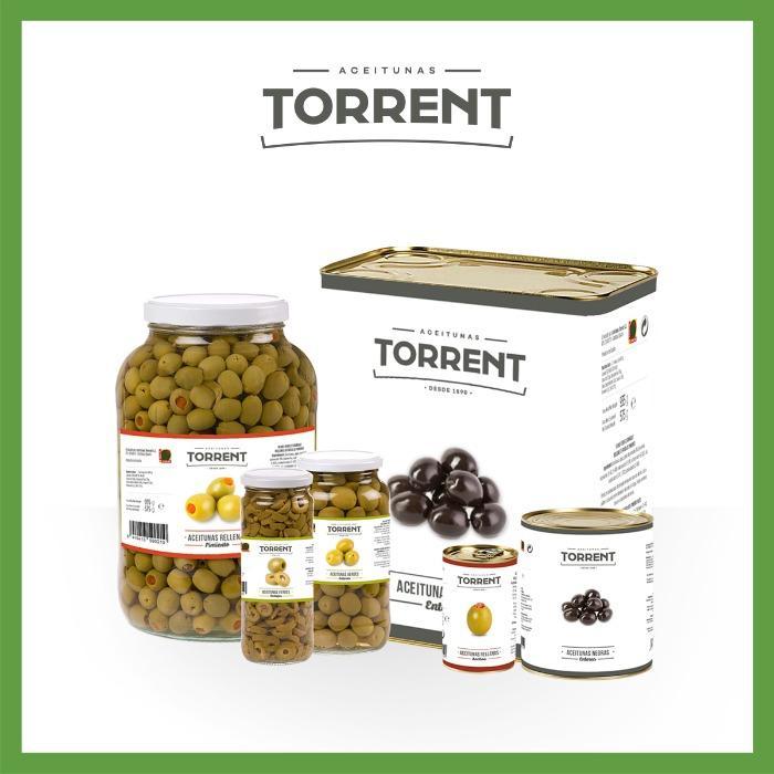 Torrent - Nuestras aceitunas de mesa verdes y negras