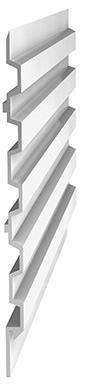 Aluminiumprofile für den Fassadenbau - null
