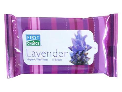 Toallitas húmedas de higiene 10S-lavanda