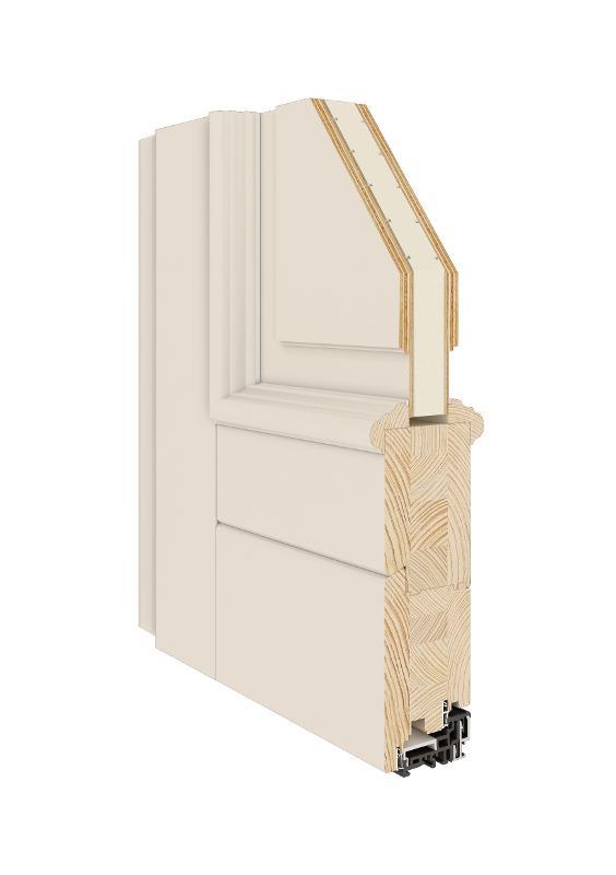 Classic Entrance Door (Wooden 68|78|92) - Classical Wooden Entrance Door