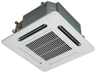 Cassette 4-voies 600x600 DI & SDI - Inverter Réversible