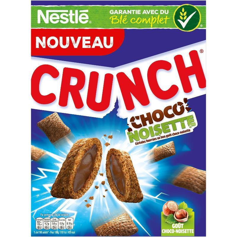 Céréales choco-noisette 400g - CRUNCH - Céréales choco-noisette 400g - CRUNCH