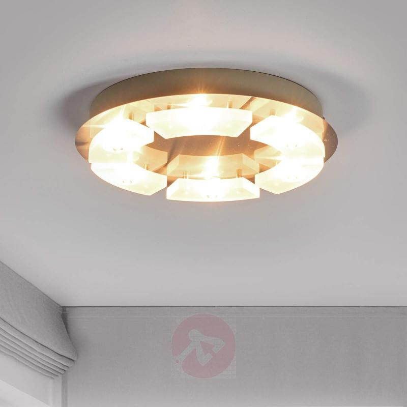Round led ceiling light leslie g9 ceiling lights lights round led ceiling light leslie g9 ceiling lights aloadofball Image collections