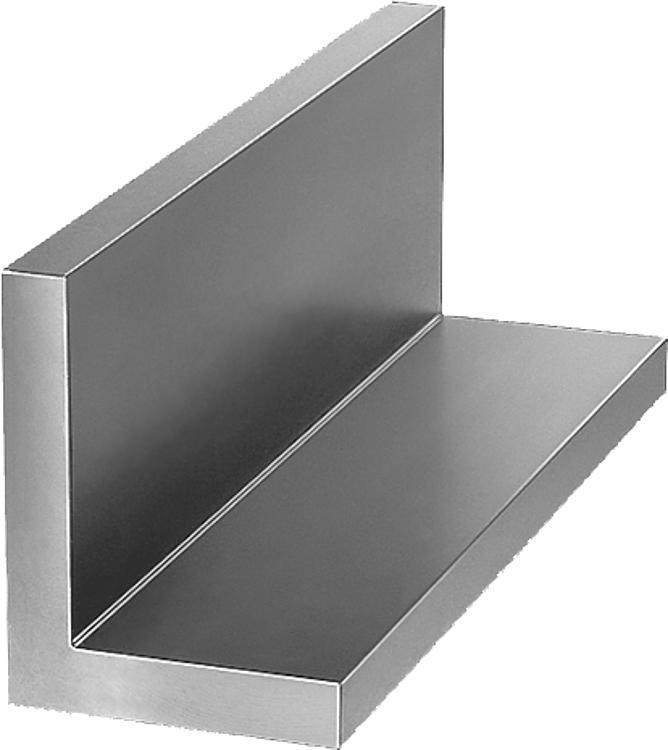 L-profiles unequal grey cast iron or aluminium - Profiles