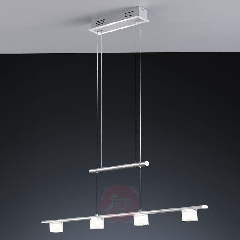 LED pendant light Gaye, 90 cm, 4-bulb - Pendant Lighting