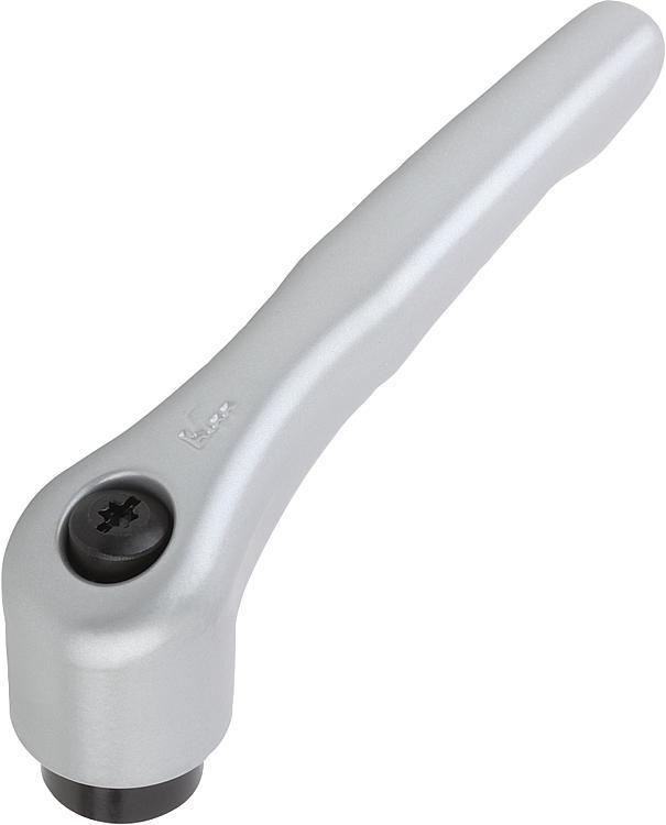 Manette indexable avec insert taraudé - Leviers de blocage, manettes indexables