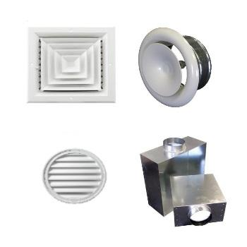 Grilles, Diffusers & Plenum Range. - Grilles, Diffusers & Plenum Range for HVAC systems.