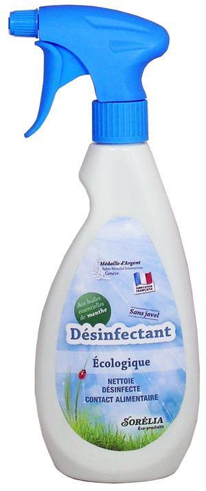 Désinfectant Surface Ecologique - Désinfectant Sorélia