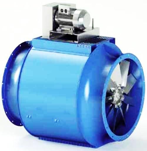 Ventilateur industriel hélicoidal/axial - EF/B Ventilateurs