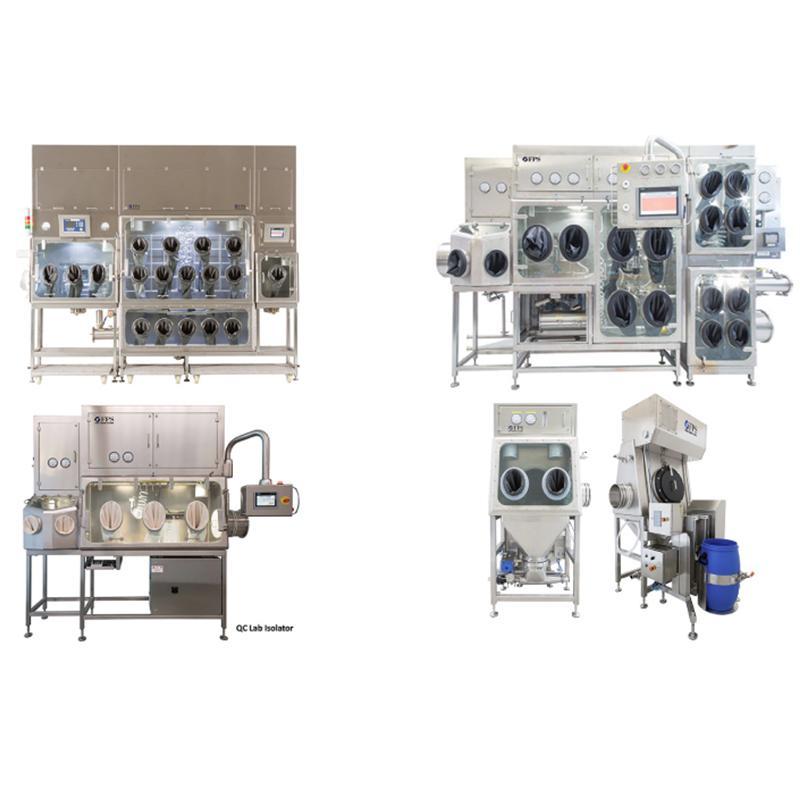 Isolatori per la produzione primaria di prodotti API e HPAPI
