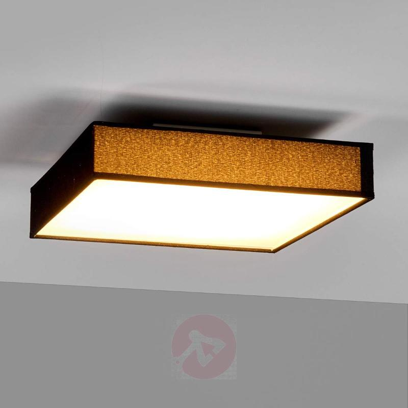 Angular fabric ceiling light Aka with LEDs - Ceiling Lights