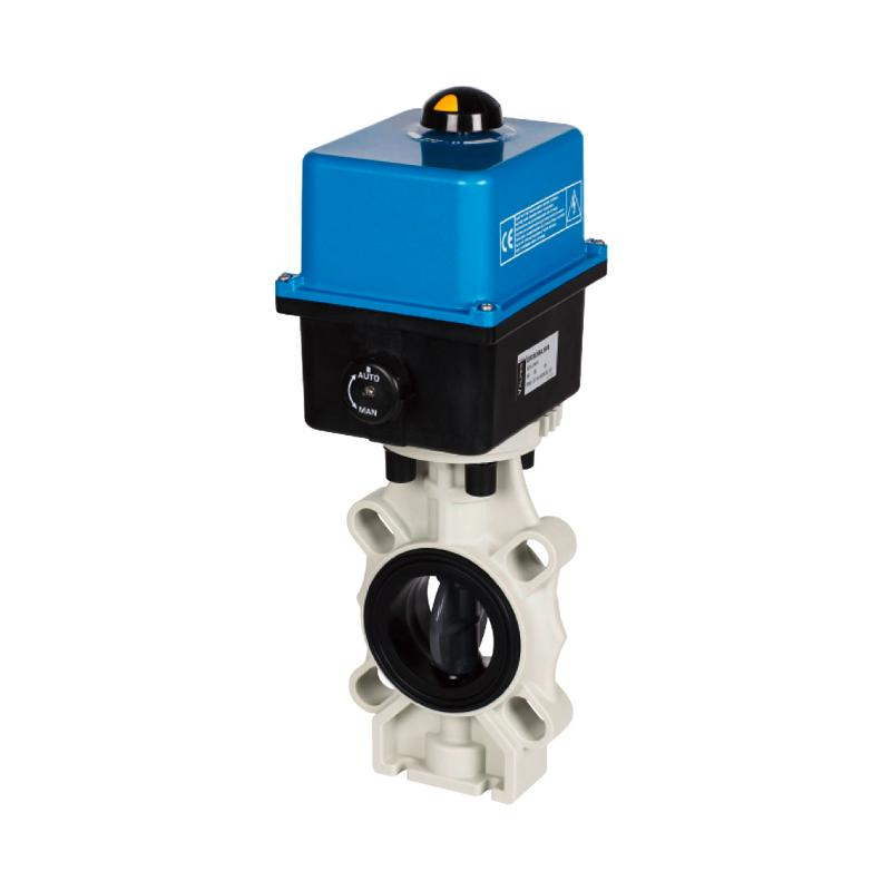 Automatic Butterfly Valve - K4, with electric actuator