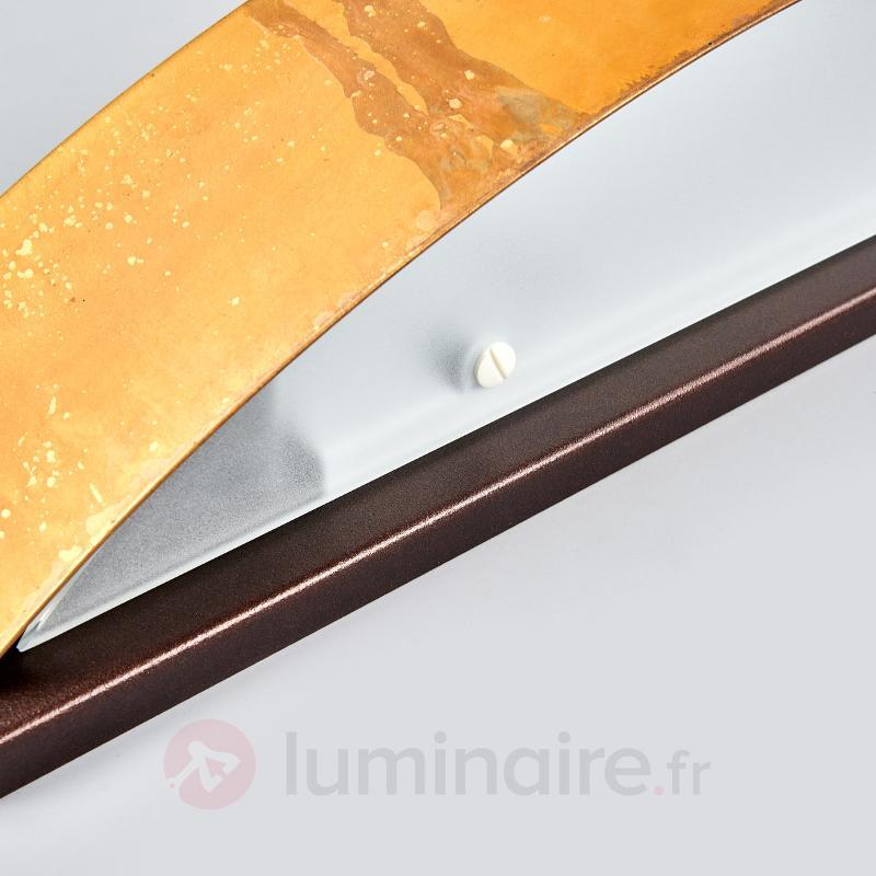 Applique exclusive LOLA brune - Appliques en laiton/dorées