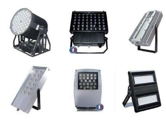 Projecteurs à LED pour l'industrie