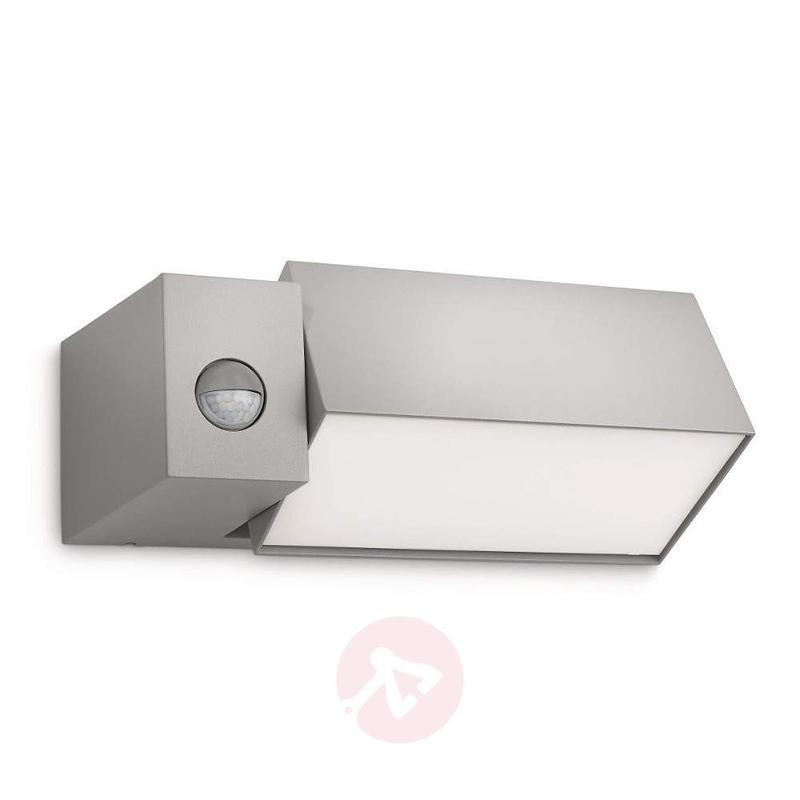 Border Wall Light with Motion Detector Grey - Wall Lights with Motion Sensor