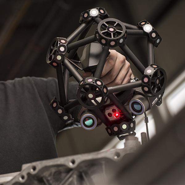 Escáner óptico 3D CMM: MetraSCAN 3D - La solución de medición 3D portátil más flexible para condiciones de producción