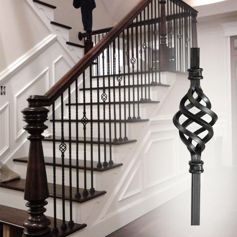 Wrought Iron Staircase: Adjustable Wrought Iron Stair Balusters, SHANGHAI FORSHINE