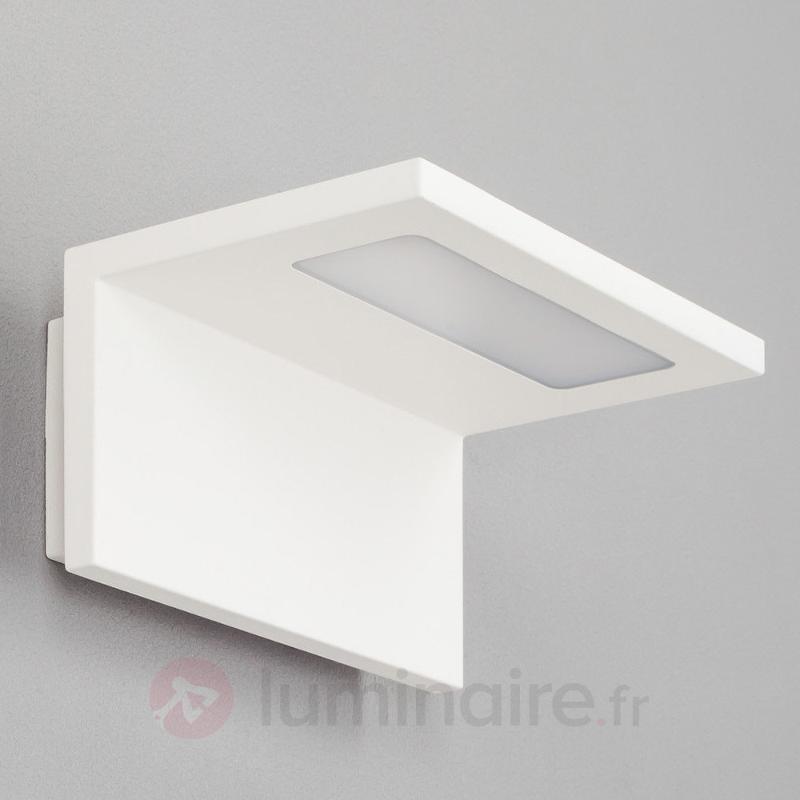 Applique extérieure LED blanche Caner - Appliques d'extérieur LED