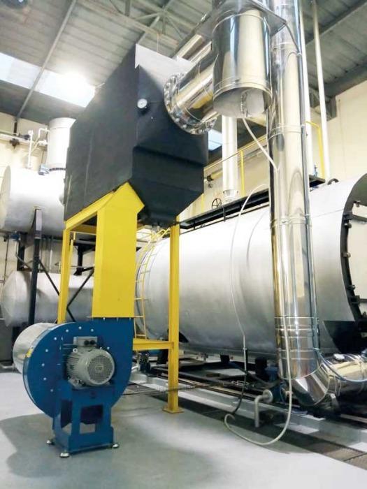 Precalentadores de aire de combustión - Precalentadores de aire de combustión SICAPH