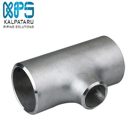 Stainless Steel 347/347H Unequal Tee - Stainless Steel 347/347H Unequal Tee