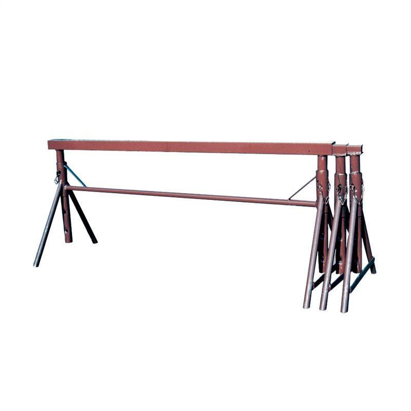 Folding jack - Folding jack painted or galvanised