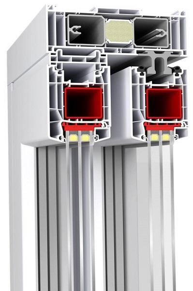 HST-85 (Coulissant PVC Aluplast) -