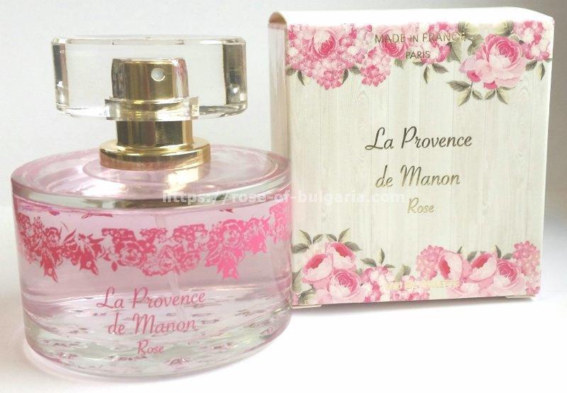 Perfume La provence de Manon - Rose - Eau de Parfum for ladies, Floral, made in France, Edp 60 ml
