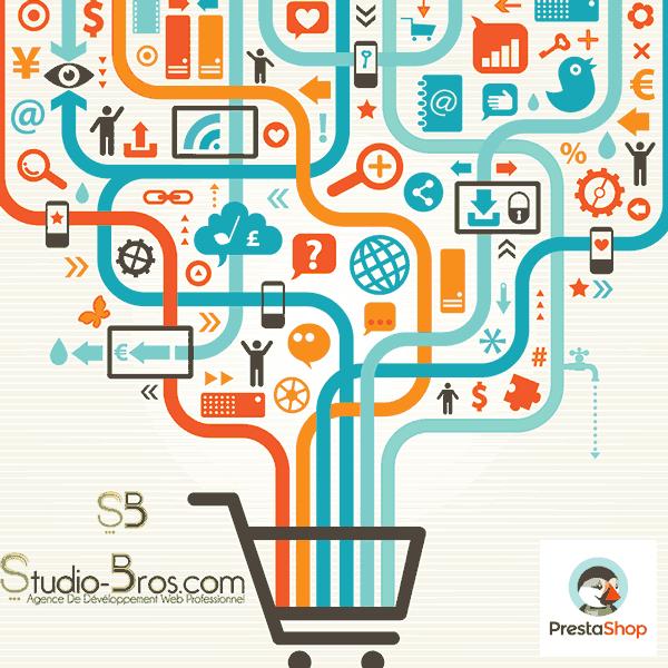 Création de site E-Commerce - E-Commerce PrestaShop