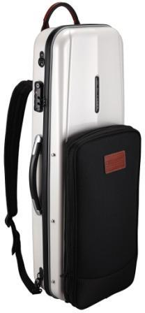 GLK-V(58) - Combi oblong violin case/ White