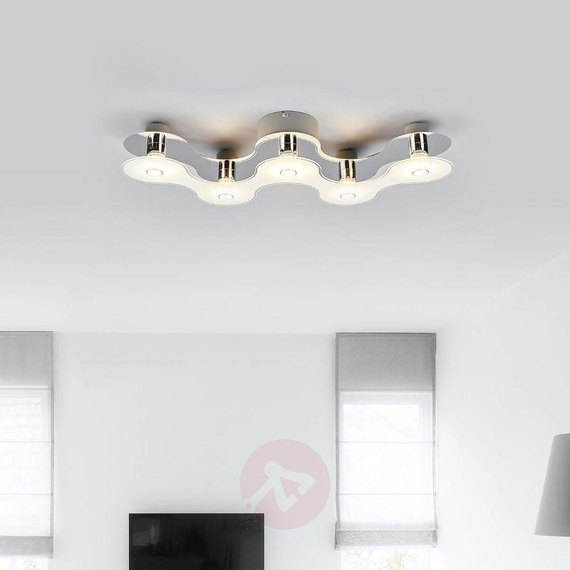 Sondra LED ceiling light with futuristic design - Ceiling Lights