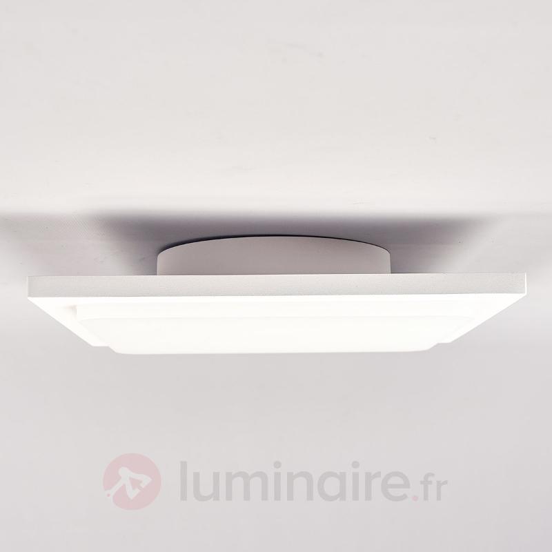 Veena - plafonnier LED blanc en aluminium - null