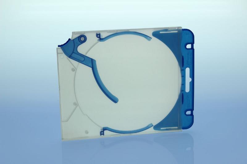 Abheftclip für CD Ejector Case - blau - Ejector/Variopack