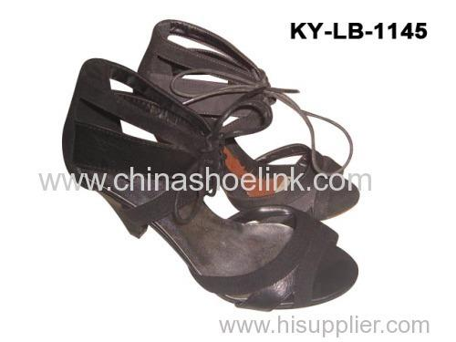High heel sandal shoes
