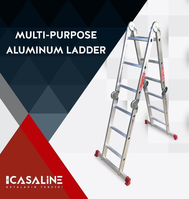 Aluminum Multi-Functional Ladder  - Casaline Aluminum Multi-Functional Ladder
