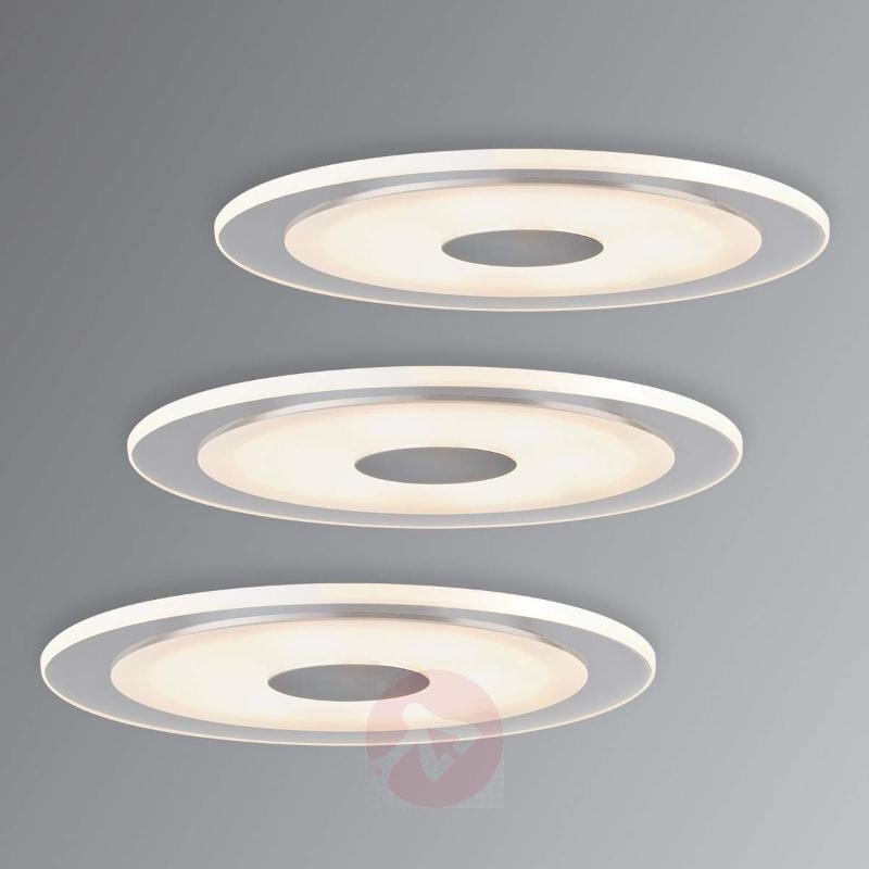 Set of 3 recessed lights LED Whirl, 2,700 K - Recessed Spotlights