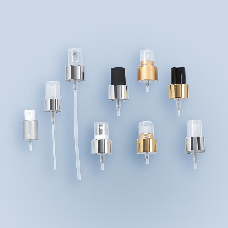 Pompes Hygiène et Cosmétique Pompes - Pompe à vis spray chapé bague GCMI 20/400 et 28/411