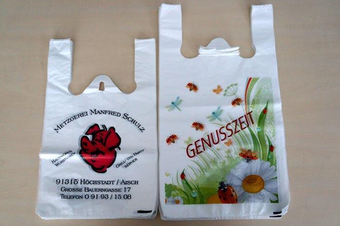 T-shirt Bags with overprint - null