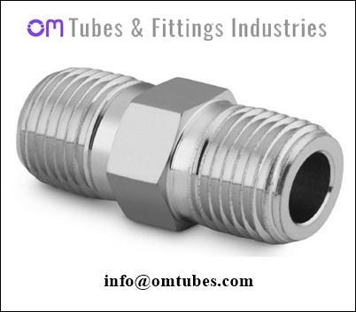 Hex Nipple - Hex Nipple Tube Fittings,Stainless steel hex nipple tube fittings,swage nipple