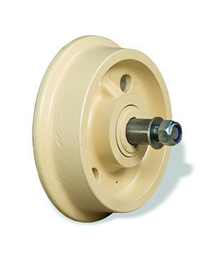 Wheels mounted on axles and bearings - null