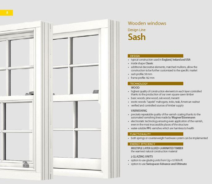 Sash window -
