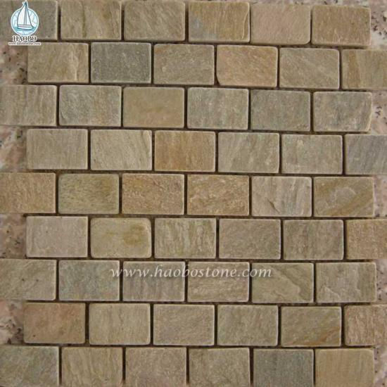 Natural Stone Mosaic Panels For Interior Wall - Construction Stone