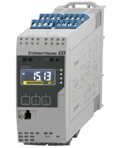 composants systeme enregistreur datamanager - transmetteur process universel RMA42