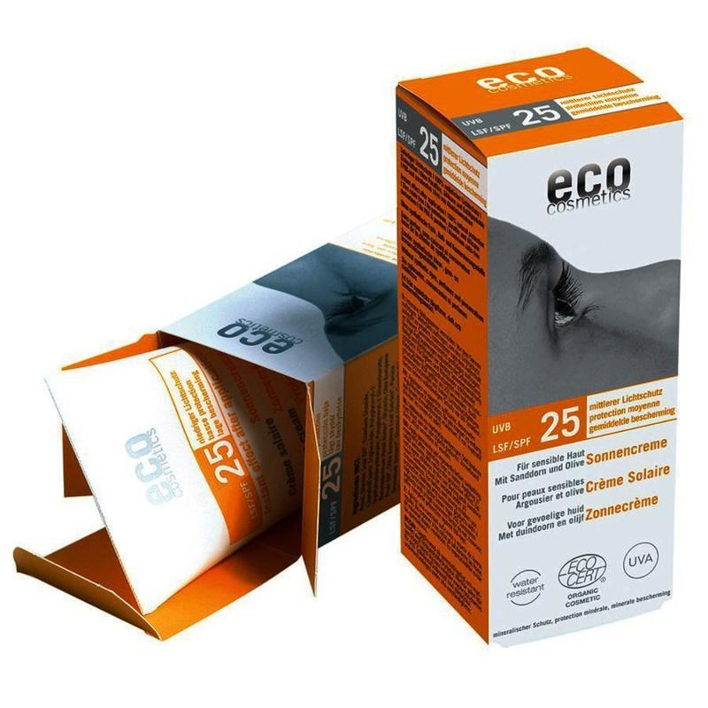 ECO Sonnencreme LSF 25 - 75ml mit Sanddorn und Olive - null