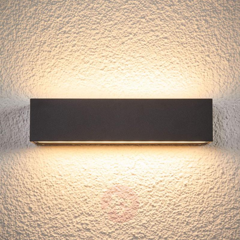 Tilde - elongated IP65 LED wall lamp for outdoors - outdoor-led-lights