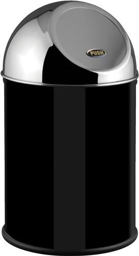 Push Bin, Metall, schwarz, 8L - Z80060401