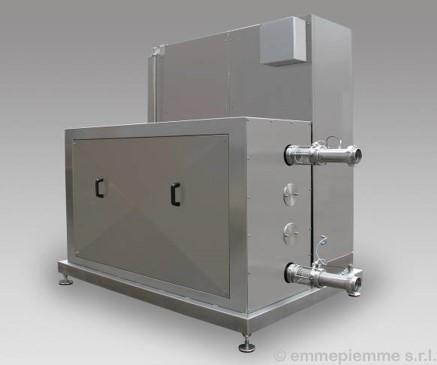 Plants components, food technology - Ohmic heating, Hot-water module, automatic manway